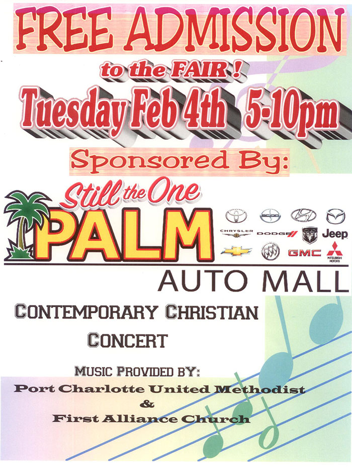Palm Auto Mall Christian Concert
