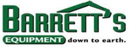 Barrett's Equipment logo